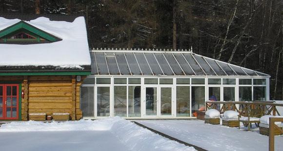 037 Индивидуальный дизайн зимнего сада в доме