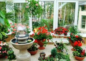 13 300x215 Искусственные водоемы в зимнем саду